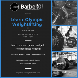 Barbell101, Fortis Fitness,