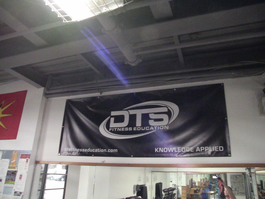 Kevin Darby's DTS Fitness Education at #FortisFitness